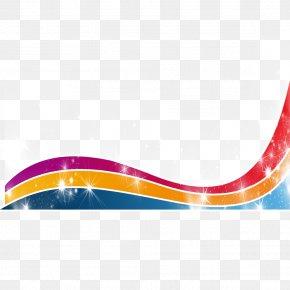 Rainbow Ribbon - Rainbow Ribbon Computer File PNG