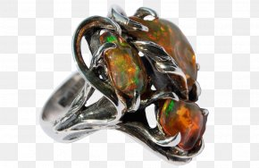 Mexican Ring - Opal Jewellery Ring Gemstone Silver PNG