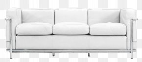 White Leather Lobby Couch Picture - Couch Cushion Table Garden Furniture PNG