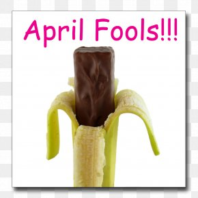 Banana - April Fool's Day Practical Joke Fun Humour PNG