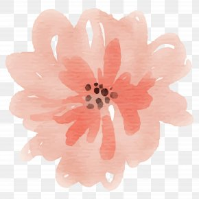 Painting - Watercolor Painting Flower Clip Art PNG
