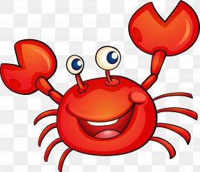 Crab Cartoon Vector - Crab Cartoon Illustration PNG