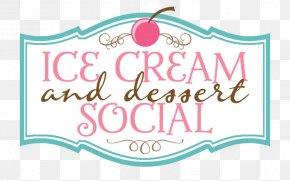 Ice Cream - Ice Cream Social Dessert Pecan Pie PNG