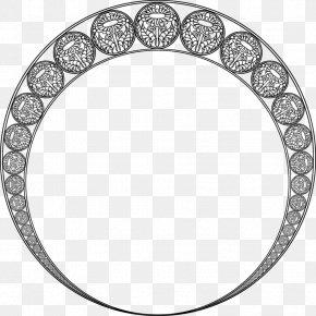 Circle Border Clip Art - Art Nouveau Ornament Art Deco Clip Art PNG