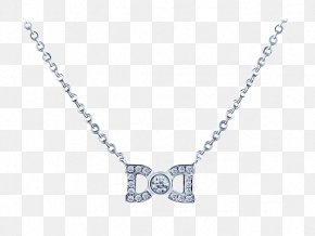 I,DO Double-D Diamond Necklace - Necklace Earring Jewellery Diamond PNG