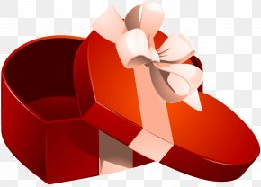 Valentine's Day - Valentine's Day Gift Decorative Box Heart PNG