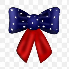Floating Bow - Independence Day Free Content Clip Art PNG