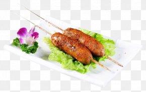 Strings Of Sausages - Kebab Barbecue Bratwurst Yakitori Breakfast Sausage PNG