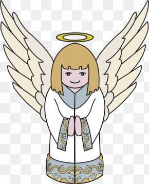 Host Of Angels - Shareware Treasure Chest: Clip Art Collection Openclipart Free Content Image PNG