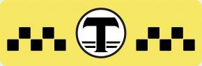 Taxi Logo - Taxi Yellow Cab Clip Art PNG