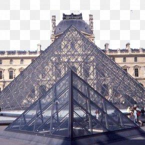 Paris Louvre Building Two - Musxe9e Du Louvre Louvre Pyramid Building Architecture PNG