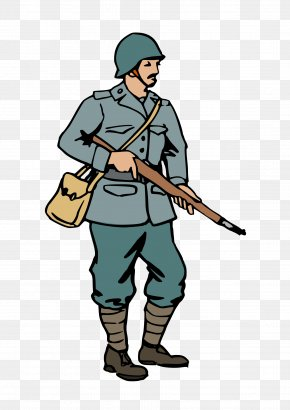World War 2 Cliparts - Second World War Soldier Clip Art PNG