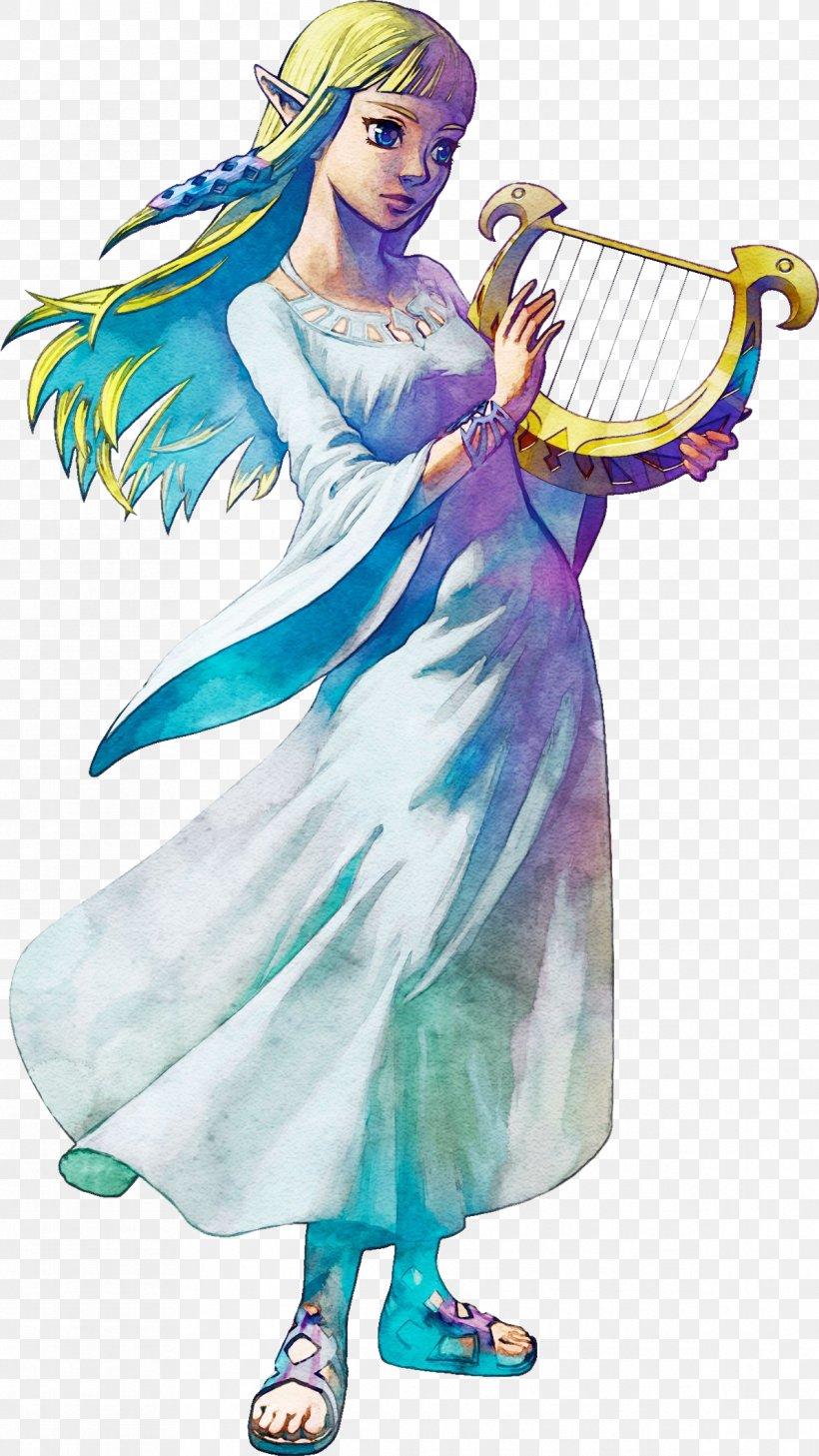 The Legend Of Zelda: Skyward Sword Princess Zelda The Legend Of Zelda: Ocarina Of Time Link The Legend Of Zelda: Twilight Princess HD, PNG, 1192x2119px, Legend Of Zelda Skyward Sword, Angel, Art, Characters Of The Legend Of Zelda, Clothing Download Free