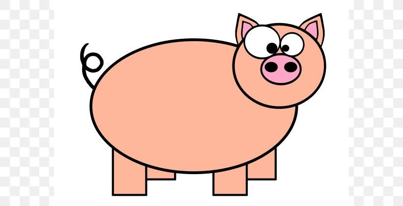 Domestic Pig Pig Roast Cartoon Clip Art, PNG, 600x420px, Domestic Pig, Animation, Artwork, Carnivoran, Cartoon Download Free