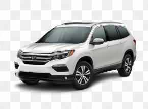 Honda - 2018 Honda Pilot EX SUV Sport Utility Vehicle 2018 Honda Pilot Touring Front-wheel Drive PNG