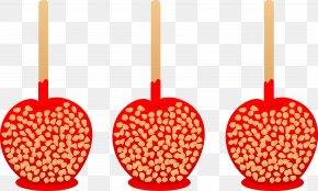 Halloween Hunter Cliparts - Candy Apple Caramel Apple Candy Corn Clip Art PNG