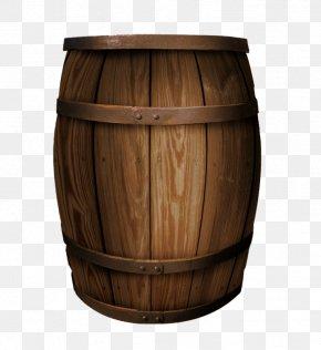 Wine Barrels - Red Wine Oak Barrel PNG