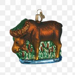 Santa Claus - Christmas Ornament Santa Claus Gift Moose PNG