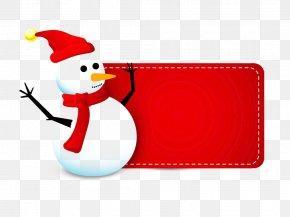 Creative Christmas Snowman Free - Santa Claus Snowman Christmas Clip Art PNG