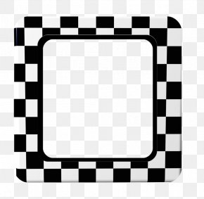Black And White Objects - Picture Frame Black And White Photography Clip Art PNG