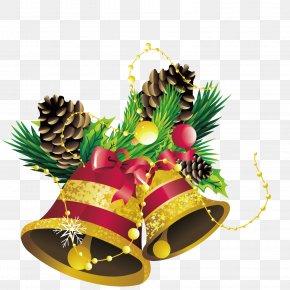 Golden Ringtone - Christmas Bell PNG