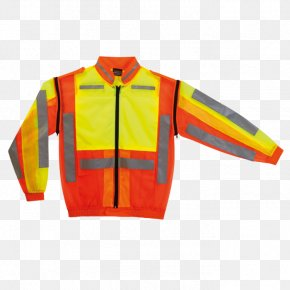 Jacket - Jacket Sleeve T-shirt High-visibility Clothing PNG