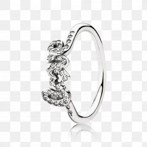 Jewellery - Pandora Cubic Zirconia Charm Bracelet Jewellery Ring PNG