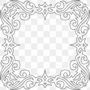 Tribal Frame - Borders And Frames Art Clip Art PNG