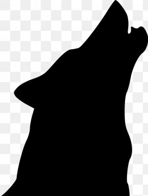 Wolf Cliparts - Coyote Dog Silhouette Clip Art PNG