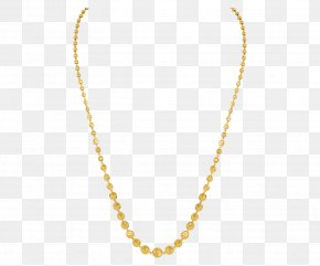 Gold Chain - Earring Necklace Jewellery Pearl Diamond PNG