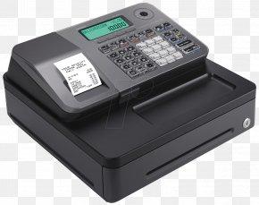 Cash Register - Cash Register Point Of Sale Casio Retail Printer PNG