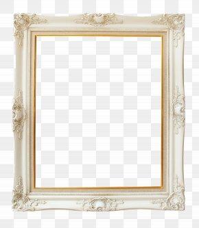 Ivory Vintage Frame - Picture Frame Wallpaper PNG