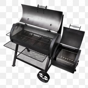 Barbecue - Barbecue-Smoker Smoking Char-Broil Oklahoma Joe's Charcoal Smoker And Grill PNG