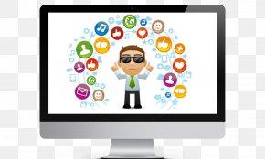 Social Media - Social Media Marketing Management Community PNG