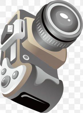Vector Diagram Of Camera Effect Diagram - Camera Lens Diagram Clip Art PNG