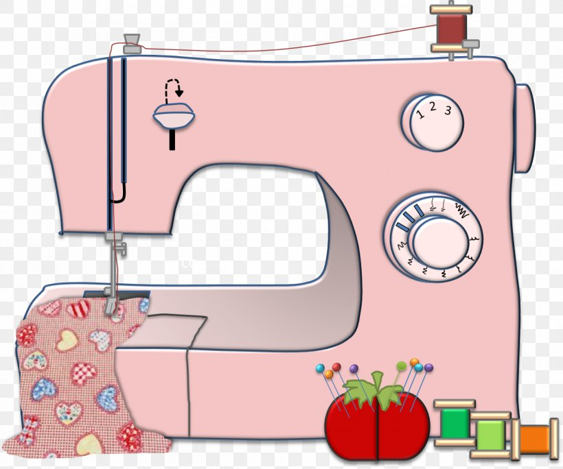 Sewing Machines Clip Art Textile, PNG, 1200x1001px, Sewing ...