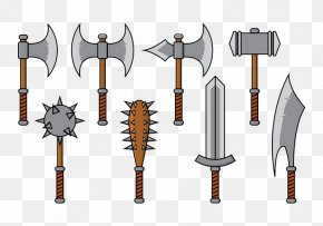 Pirate Weapons Cartoon Version - Weapon Cartoon Club PNG