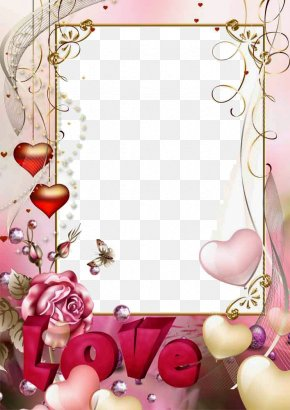 Love Frame Photo - Picture Frame PNG