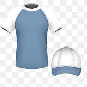 Vector Pattern Material Suit Service Blue - Euclidean Vector T-shirt Blue PNG