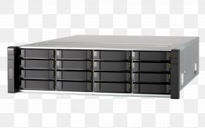 SAS 6Gb/s QNAP ES1640DC NAS ServerSAS 12Gb/s QNAP Systems, Inc.Intel - Intel Network Storage Systems QNAP ES1640DC NAS Server PNG