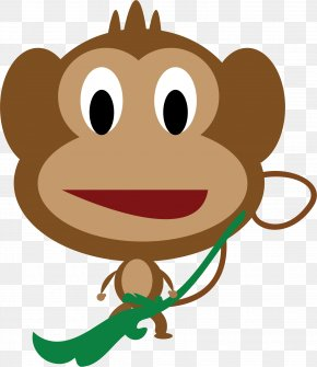 Monkey - Chimpanzee Cartoon Drawing Monkey Clip Art PNG