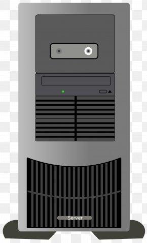 Server - Computer Case Server Clip Art PNG
