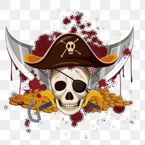 Vector Pirate Bloody - Piracy Royalty-free Clip Art PNG