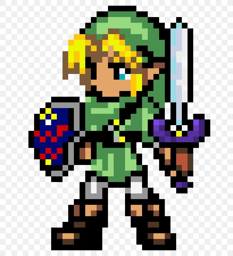The Legend Of Zelda Breath Of The Wild Link Pixel Art Png