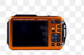 Orange Digital Cameras - Olympus Stylus 500 Camera Digital Data PNG