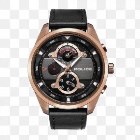 Police Industrial Wind Texture Quartz Watch - Hamilton Watch Company Fender Jazzmaster Omega Chrono-Quartz Clock PNG