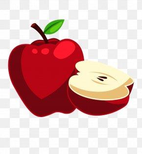 Red Apple - Apple Cartoon Clip Art PNG