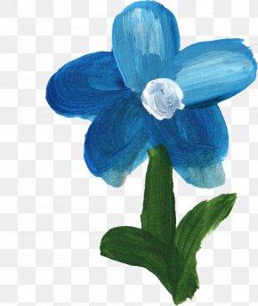 Blue Flower - Blue Flower Blue Flower Petal PNG