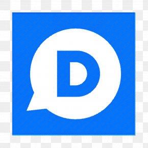 Symbol Electric Blue - Social Networks Logos Icon Disqus Icon PNG