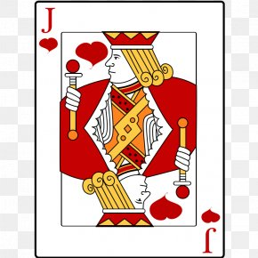 Heart Playing Cards - Knave Of Hearts Playing Card Jack Suit PNG